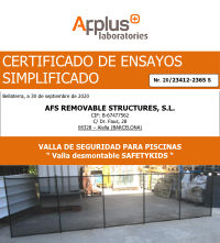 Icono SafetyKids vallas desmontables piscina certificado seguridad